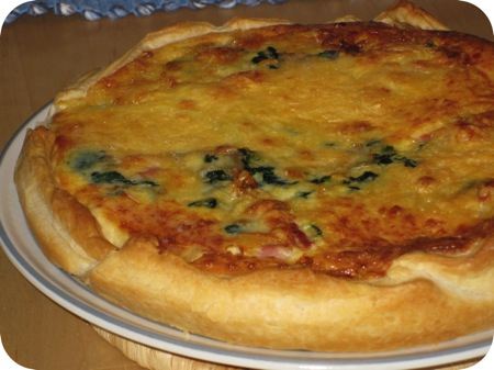 Spinazie Quiche