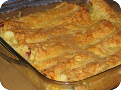 Ham & Prei Cannelloni