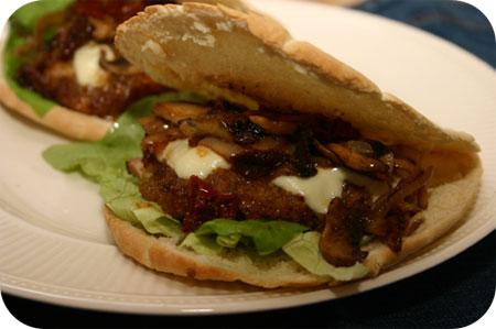 Mozzarella-Gehakt Burgers