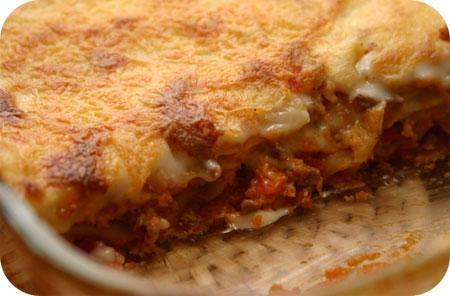 Lasagne met Bloemkool