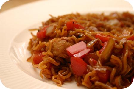 Zoetzure Noodles