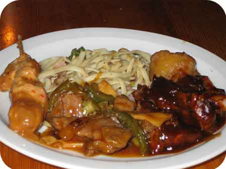 Chinees-Indisch Restaurant Kota Radja wolvega