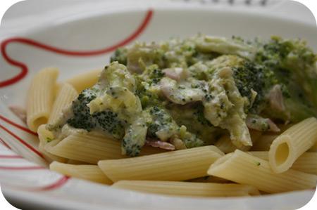 Penne met Broccoli en MonChou