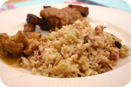Nasi Keboeli with Satay