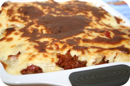 Bloemkool Bolognese