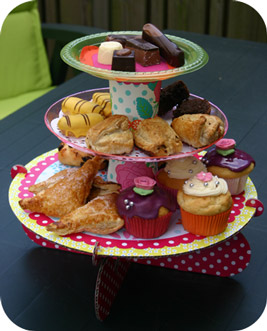 High Tea etagère