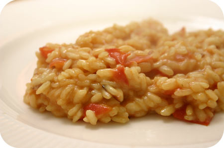 Risotto met Tomaat