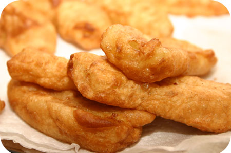 Gebakken Banaan (pisang goreng)