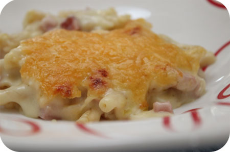 Macaroni Ham and Cheese