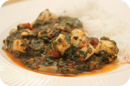 Chicken Balti with Rice