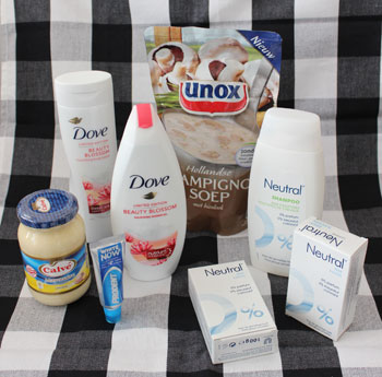 Yunomi Zomerpakket 2012 Dove, Neutral, Prodent, Calv, Unox,