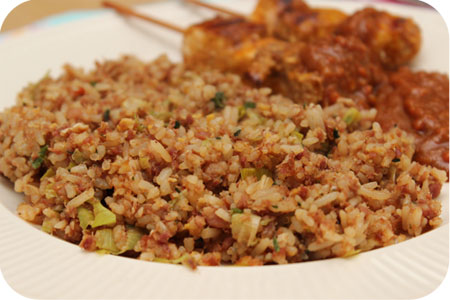 Nasi Goreng Kornet