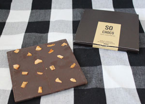 So Choco #002 Apple Strudel in Dark Chocolate