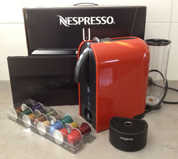 unboxing Magimix Nespresso U