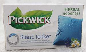 Pickwick Herbal Goodness: Slaap Lekker
