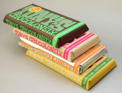 Tony's Chocolonely Limited Editions 2012