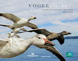 Het boek bij de serie Earthflight: Vogelvlucht