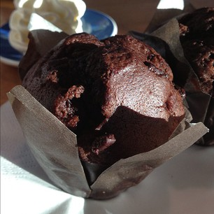 chocolade muffin paviljoen posbank