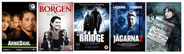 Arne Dahl, Borgen, The Bridge, The Hunters, Irene Hss,