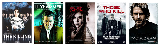 The Killing, Lilyhammer, Liza Marklund, Those who kill, Varg Veum,