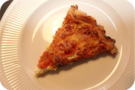 Vega: Savory Pie with Leek and Tomato