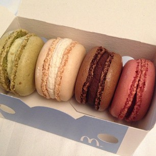 Macarons van MacDonalds
