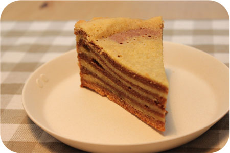 Spekkoek (Indonesian Layer Cake)