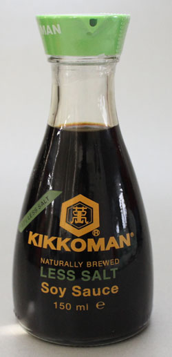 Kikkoman less salt sojasaus