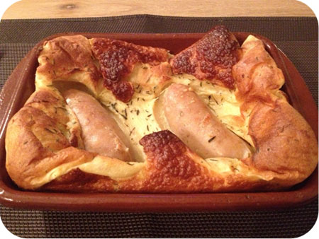 Toad in a Hole (Worstjes in Beslag)