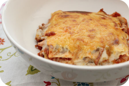 HomeMade Lasagne