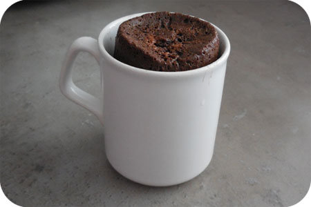 Chocolate Cakes from the Microwave