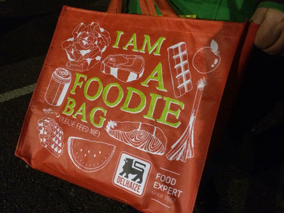 I Am a foodie bag