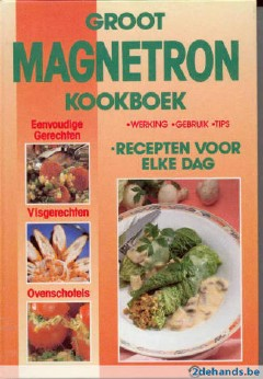 Groot Magnetron Kookboek
